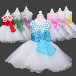 Best quality new model number beautiful chiffon material red dress fashion girl dress wedding dress L558