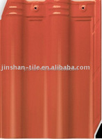 Best supply red 300x400mm chinese ceramic red clay step tile roof
