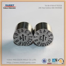 2015 Mold Components Mold Date Code Inserts