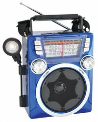 Fashion Design Rechargeable Battery AM fm sw Portable sd/usb Digital fm Radio