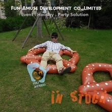 Summer Hot Sale Adult Inflatable 1.5m Inflatable Pretzel Water Toys