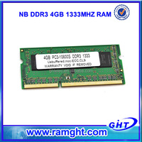 Malaysia export products ETT chips 256mb*8 ram portable ddr3 4gb for laptop