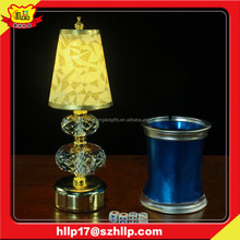 Beautiful furniture decoration ABS material coffee/bar/desk led light/lamp table smart led cup