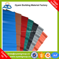 Alibaba china building materials excellent weatherability plate material roofing product for factory