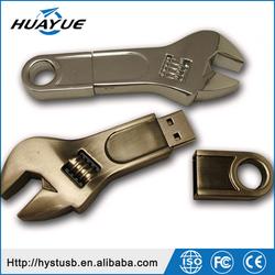 Wrench Tools Metal USB 2.0 Wristband PCBA Chip USB Flash Drive for Boys