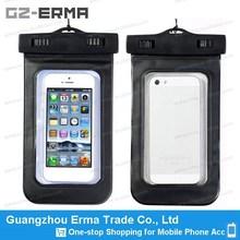 Universal IPX8 9500 Mobile Phone PVC Waterproof Bag with Landyard