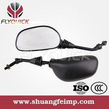 Hot Sale Black Plastic Motorcycle Rearview Mirror for BAJAJ 135 PULSAR 180 DISCOVER