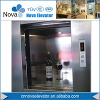 stainless steel elevator/kitchen food lift/tailgate lifts