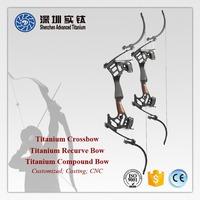 Titanium custom archery hoyt compound bow and arrow cast forge factory