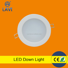 Top sale 4w 7w 10w 12w 3 colors in one fitting led downlight with CE ROHS