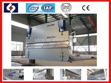 Prensadora de láminas de metal de gran eficiencia wc67K, Máquina hidráulica de doblado CNC, Doblador de placas de metal