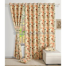 Large Window Dark Color Blackout Window Curtain