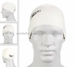 custom colorful silicone swim cap,silicone nude swimming cap,silicone swim hat for long hair