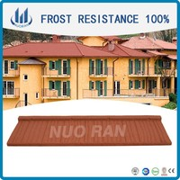 1340*420 mm stone metal shingles prices /CE Certificate roof tile made in china/good quality roof shingle for house