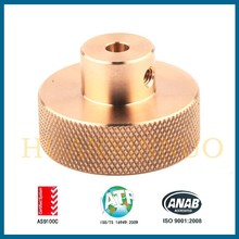 CNC turning parts machine part brass