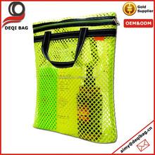 5 Color Mesh Bag for Beach Pool Shopping Grocery Swim