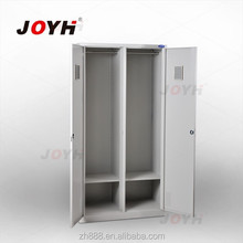 Luoyang Manufacturer Good Quality Knock Down Two Door Steel Wardrobe