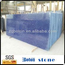 Artificial Blue Starlight Quartz Stone,Engineered Quartz Stone,Construction Material