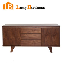 LB-AL5069 dark color with three drawers sideboard