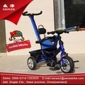 Push carro triciclo criança / três rodas kid triciclo