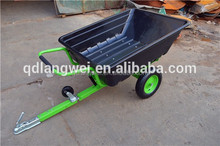 ATV TIPPING TRAILER 200KG - Quad Bike Tractor Plastic Farm Yard Stable Garden