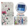 Facotry Flower Butterfly Printed Wallet Leather Cellphone Case For huawei honourx1