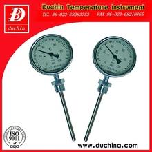 Wss-411 tipo radial bimetalico termómetro