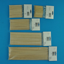 Flexible Natural In China Thin Round Bamboo Stick