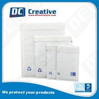 Custom Printed White Bubble Mailes