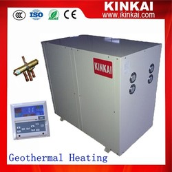 -25C area winter radiator house heating 13kw/21kw/40kw/80kw kinkai water source best geothermal heat pump installation cost
