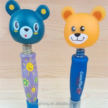 Wholesale and animal designs twist cute ballpoint pen good for promotion