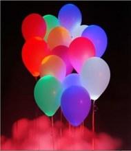 Promotion gift logo printed led balloon / Party light balloon / decoration ballon