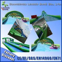 Crazy party 1000 ft slip n slide inflatable slide the city