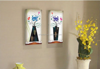 2015 Vase and Flowers Oil Painting Unique Wall Decorative Items