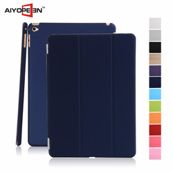 Wholesale High Quality Colorful Smart Tripled Folded Flip Cover Auto Wake Up Case for iPad mini 4 for Apple mini 4 Tablet case
