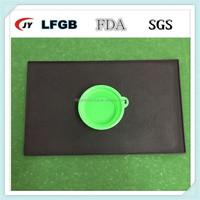 wholesale waterproof silicone dog food mat