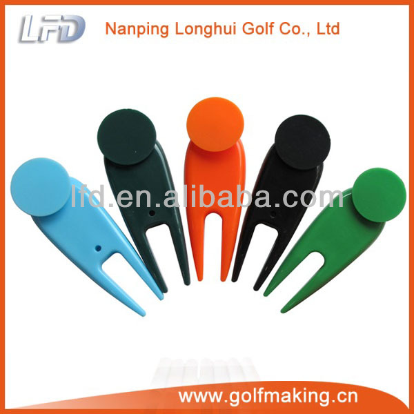 ball mark repair tool how to use