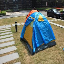 Professional south korea market aluminum frame tent 3-4person camping tent
