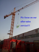 QTZ500 TC7050 Cheap Construction Machinery Tower Crane Anchorage 200m for real estate in India