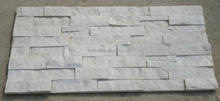 Hot selling white quartzite in panel in China (Culture Stone)