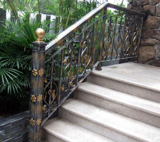 M s vendidas en la moderna de hierro forjado pasamanos de - Pasamanos de hierro forjado para escaleras ...