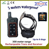 DT300 waterproof dog electronic shock training collar