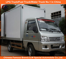 Foton Mini Refrigerated Van Unit Foton 4*2 car mini refrigerator 4*2 Foton 3-5ton refrigerator freezer