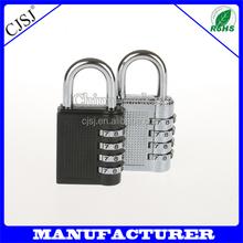 New design door locks zinc alloy material 4 dial combination lock