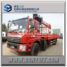 FOTON 6X2 10t SANY truck mounted crane