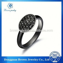 alibaba website mirco pave square cz wedding ring 925