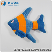 promotional gift different colors plush fish for kids, sea animals, Customised toys,CE/ASTM safety stardard