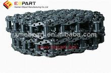 kobelco excavator track link,track link assembly:SK07N2,SK06,SK09,SK07,SK60,SK120,SK135,SK160,SK230,SK330,SK360,SK380,SK220,