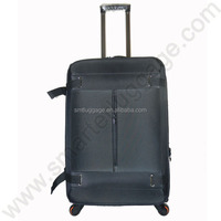 New Style Canvas Fabric Trolley Luggage Case