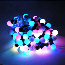 Fairy Party Xmas Outdoor Indoor 17mm 23mm 40mm Waterproof LED ball String Light